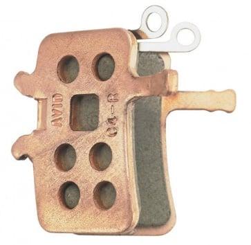 AVID BB7/JUICY METALLIC DISC PADS STEEL BACKED (BULK 20 PAIRS)