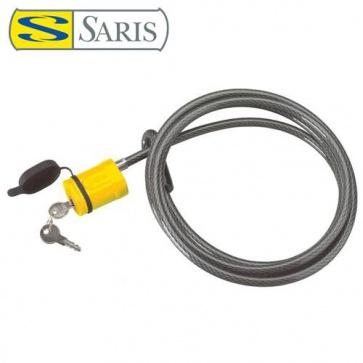 Saris Bones braided Locking Cable 8feet Stainless 240cmx10mm