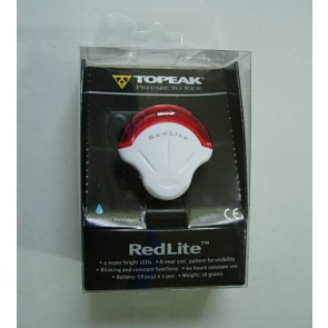 Topeak Cycling Rear Safety LED Lamp RedLlite White